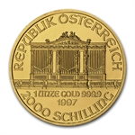 1997 1 oz Gold Austrian Philharmonic