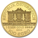 2005 1 oz Gold Austrian Philharmonic - Brilliant Uncirculated