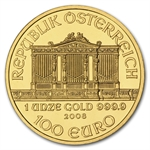 2008 1 oz Gold Austrian Philharmonic - Brilliant Uncirculated