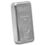 250 gram Geiger 'Security Line' Silver Bar .999 Fine