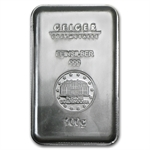 100 gram Geiger 'Security Line' Silver Bar .999 Fine