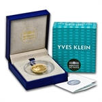 2012 1/4 oz Gold Proof European Program - Yves Klein