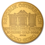 2009 20 oz Gold Austrian Philharmonic NGC MS-67 (20th Ann)