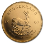 1967 1 oz Gold South African Krugerrand MS-66 NGC