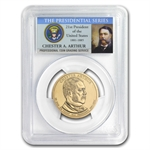 2012-P Chester Arthur Position B Presidential Dollar MS-67 PCGS