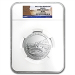 2010 - 2012-P 5oz Silver ATB 15-Coin Set SP-70 NGC Early Release