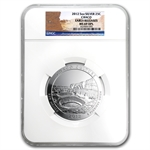 2012 5oz Silver ATB 5-Coin Set MS-69 DMPL (ER) NGC