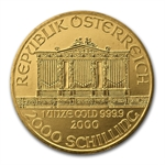 2000 1 oz Gold Austrian Philharmonic - Brilliant Uncirculated