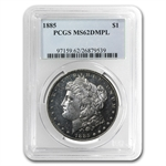 1885 Morgan Dollar - MS-62 DMPL Deep Mirror Proof Like PCGS