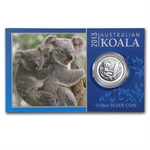 2013 1/10 oz Silver Australian Koala (In display card)