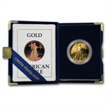1987-W 1 oz Proof Gold American Eagle (w/Box & CoA)