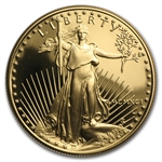 1991-W 1 oz Proof Gold American Eagle (w/Box & CoA)