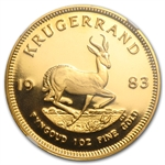 1983 1 oz Gold South Africa Krugerrand NGC PF-69 UCAM
