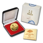 1987 .2948 oz AGW Proof Gold Australian $200