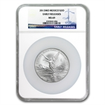 2013 2 oz Silver Libertad MS-69 NGC (ER) - Registry Set