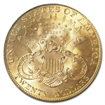 1901 $20 Gold Liberty Double Eagle - MS-65 PCGS