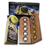 The 10 Commandments Medal Set .9999 Gold - Holy Land Mint