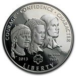 2013-W Girl Scouts $1 Silver Commemorative - Proof