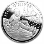 2013 10€ Silver Proof Sports Series - Winter Games - Snowboard