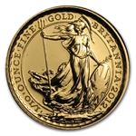 2012 1/10 oz Gold Britannia - 25th Anniversary
