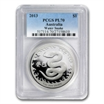 Royal Australian 2013 Year of the Snake - 1 oz PL70 PCGS