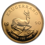 1990 1 Oz Gold So. African Krugerrand NGC PF-68 UC
