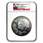1998 (Kilo Proof) Silver Chinese Panda PF-65 Ultra Cameo