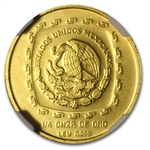 1998 Mexico 25 Pesos 1/4 oz Gold Sacerdote NGC MS-66