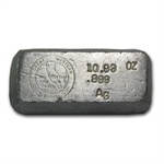 Great Western Coin & Bullion - 10.93 oz Silver Bar - .999 Fine
