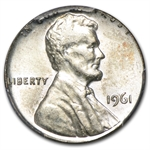1961 Lincoln Cent (MINT ERROR) Struck on Silver Dime (PCGS MS-62)