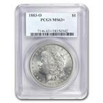 1878-1904 Morgan Dollars - MS-63+ Plus PCGS
