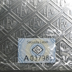 5000 gram Geiger 'Security Line' Silver Bar (5 kilo, Scruffy)