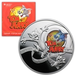 Niue 2013 Proof Silver $1 Cartoon Characters - Tom & Jerry
