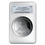 2012 5 oz Silver ATB - Hawaii MS-69 PL PCGS