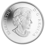 2013 ½ oz Silver Canadian $10 Ducks of Canada – Mallard