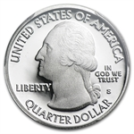 2013-S Silver Proof Quarter ATB White Mountain PR-70 DCAM (FS)
