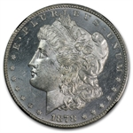 1878-S Morgan Dollar MS-63 NGC - Black Holder - 25th Anniversary