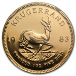 1983 1 oz Gold South African Krugerrand NGC MS-66