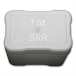 Heavy Duty 1 oz Bar Tubes (RECTANGULAR)