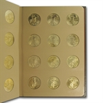 1986-2013 1 oz Gold American Eagle Complete 28 Coin Collection
