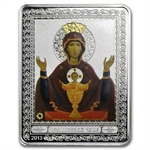 Cook Islands 2013 $5 Russian Icon - Saint Neupivaemaya Chalice