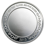 2013 1 oz Graduation Enameled Silver Round (w/Box & Capsule)