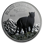 Congo Republic 2013 1000 Francs Black Beauties - Black Leopard