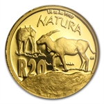 South Africa 2007 1/4 oz Proof Gold Natura - Eland - NGC PF-70UC