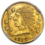 1912 British Columbia Canada 1 Dollar Gold MS-65 NGC