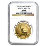 1994 1 oz Australian Gold Nugget NGC MS-68