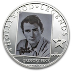 Cook Islands 2013 Silver Proof Hollywood Legends - Gregory Peck