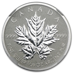 2013 1/20 oz Silver Canadian $1 Maple Leaf 25th Anniv. PF-70 NGC