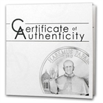 Cook Islands 2013 Silver $5 Habemus Papam - Franciscus