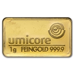 1 gram Gold Congratulations Bar